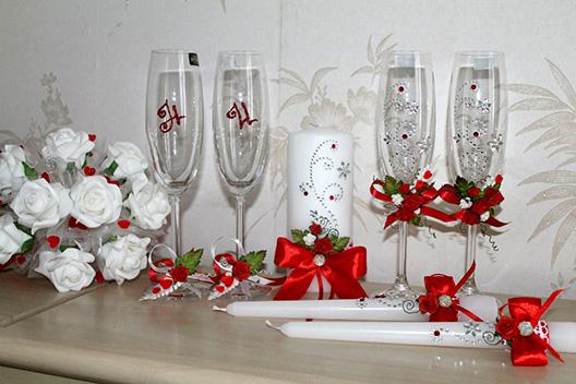Свадебные украшения на своими руками 32